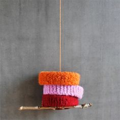 A beginning knitting project that is perfect for kids- knit and felt some cool bracelets!