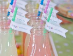 Sweet Pastel Printable Party Dessert Table Decor for Easter or Spring www.hellomysweet.me