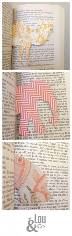 キレイな柄の紙を好きな動物の形に切り取るアイディアですが、上半身だけに切り取れば本の間から体をのぞかせているように見えます!お子さんが喜びそうなアイディアですね。