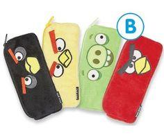 Angry Birds Plush Pencil Case