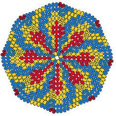 round peyote pattern