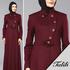 Modern Hijab Fashion, Islamic Fashion, Abaya Fashion, Muslim Fashion, Fashion Dresses, Gown Suit, Dress Suits, Hijab Dress, Hijab Outfit
