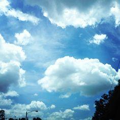 Nubes maravillosas