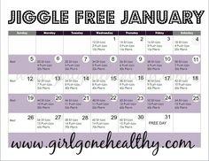Jiggle Free January www.girlgonehealthy.com