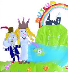 SPROOKJE illustratie bij prinses Iris en het regenboogmuseum