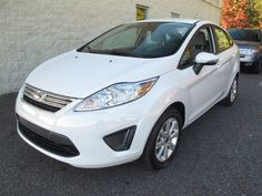 At Paramount Valdese, New 2013 #Ford #Fiesta, Oxford White, Bluetooth, 6-Speed PowerShift Automatic, $16,330, after rebates, Sold!