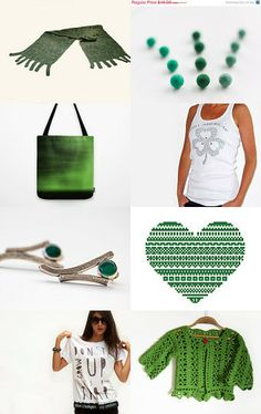 The Emerald Isle by Julia on Etsy--Pinned with TreasuryPin.com
