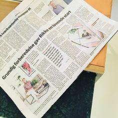 Elbobladet i dag☺️👏 #erbsdesign #fredericiashistorie #upcoming #brand #iværksætter #grundig #kvalitet #special #mål #handmade #unik #tropådet