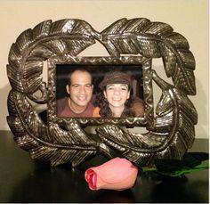 "Heart of Haiti Picture Frame, Metal Palm Leaf 4"" x 6""  http://www1.macys.com/shop/product/heart-of-haiti-picture-frame-metal-palm-leaf-4-x-6?ID=701519"