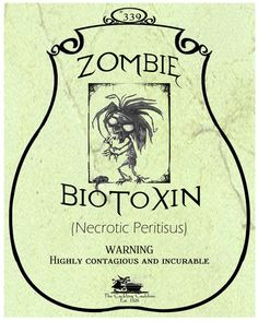 Zombie-BioToxin-Label (a_granger) Tags: autumn halloween book magick label magic spell haunted labels apothecary cauldron charms potions spells potion cackling halloweendecorations curses spellbook hexes apothecarylabels potionlabels Halloween Apothecary Labels, Halloween Bottle Labels, Halloween Spells, Halloween Items, Halloween Pictures, Halloween Projects, Halloween Party Decor, Holidays Halloween, Spooky Halloween