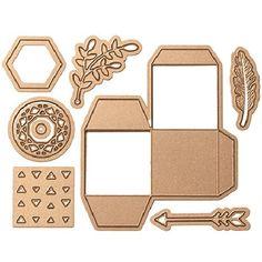 Square Shaped Treat Box Set