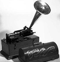 El fonografo #antes #musica