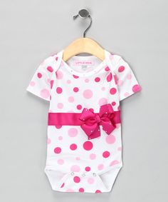 Adding a bow to a onesie would be REALLY easy...