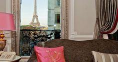 Hotel Plaza Athenee Paris  Habitaciones de hotel con las mejores vistas ☆ De Lujo