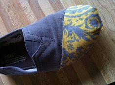 toms shoes DIY TOMS Shoe Repair Tutorial                share the best shoes