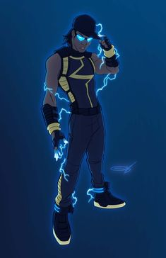 Something Marvel? Something Dc? Black Anime Characters, Comic Book Characters, Comic Character, Comic Books Art, Character Design, Character Concept, Concept Art, Dc Comics, Black Comics