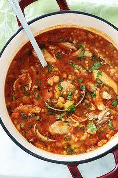 Algerian Recipes, Algerian Food, Small Pasta, Good Food, Yummy Food, Bon Appetit, Food Videos, Stew, Entrees