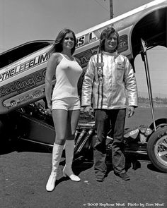 Tom Ferrano with the Keeling & Clayton 'The Lee Eliminators' F/C (& Barbara Roufs)