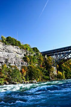 What a beautiful shot in the Niagara Gorge!  www.whirlpooljet.com