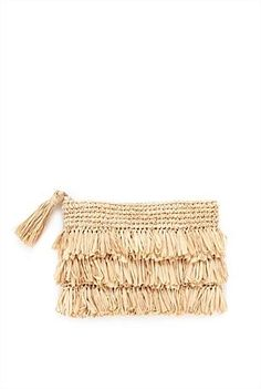Raffia-Kupplung mit Fransen – Bag Fetish – Raffia clutch with fringes – Bag Fetish – Mobiles En Crochet, Crochet Mobile, Love Crochet, Crochet Gifts, Crochet Bags, Best Leather Wallet, Crochet Phone Cases, Ethno Style, Diy Bags Purses