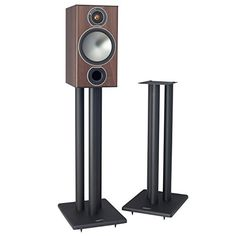 Research has shown that loudspeakers sound best when their tweeter is positioned at or slightly above the ear of the listener. A high quality steel speaker stand like the Pangea Audio LS300 not only positions the speaker drivers at the best acoustic height, but it also rigidly holds the speaker... more details available at https://furniture.bestselleroutlets.com/game-recreation-room-furniture/tv-media-furniture/speaker-stands/product-review-for-pangea-audio-ls300-speaker-stan