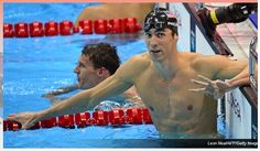 IMG411a: The ESPN Olympics homepage features a dominating image of American swimmer, Michael Phelps. The picture captures national pride because the American flag is also portrayed. It captures audience attention because he is a national champion that the people strongly support.