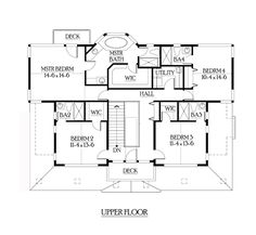Shingle House Plan chp-39320 at COOLhouseplans.com
