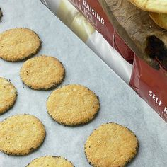 Enjoy one of Ottolenghi's savoury Parmesan and Poppy Biscuits with a warming glass of red wine and perhaps some cheese and grapes. These biscuits are perfect for a dinner party, cheese board or even just a delicious savoury snack at home.