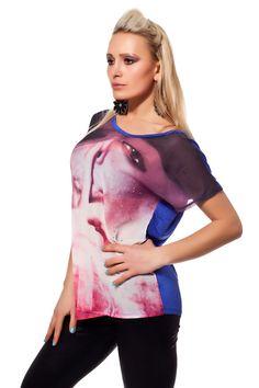 Shirt mit Foto Print