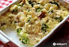 Csirkés-brokkolis rizs Falafel, Mozzarella, Poultry, Risotto, Potato Salad, Macaroni And Cheese, Potatoes, Ethnic Recipes, Food