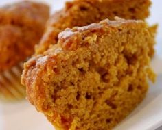 Greek Yogurt Pumpkin Muffins