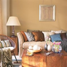 Earth Tone Living Room Ideas Image Colors