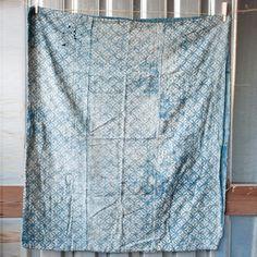 Japanese Indigo Kasuri Fabric now featured on Fab.