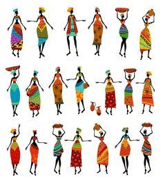 Beautiful African Art from $34.99 | www.wallartprints.com.au #AfricanArt #WorldArt