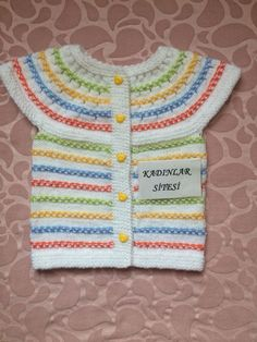Crochet Baby, Knitting, Sewing, Sweaters, Clothes, Fashion, Knits, Crew Neck, Sacks