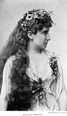 A world renowned Opera Singer at the turn of the century. Dame Nellie Melba