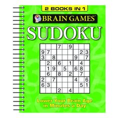 BRAIN GAMES SUDOKU BINDUP 1