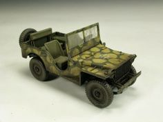 Jeep Willys 1/35 Scale Model