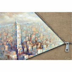 Unzip The City II Canvas Print