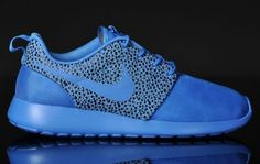1e9be0194280 Nike Roshe Run Safari Pack – Blitz Blue