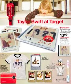 """""""1989"""" Merchandise all available at Target!"""