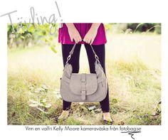 Snygg Kelly Moore kameraväska från fotobag - lottas just nu ut av fotografen Jonna Erlandsson. :)