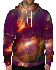 79af4527dc Warm Galaxy Unisex Hoodie Galaxy Hoodie