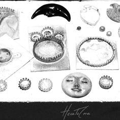 Soldering  pieces. Metalsmith sterling silver
