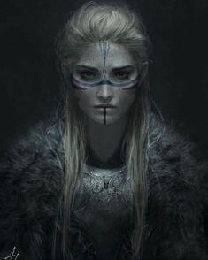 Warrior Princess, Princess Art, Fantasy Princess, Viking Character, Character Concept, Character Art, Fantasy Warrior, Fantasy Girl, Krieger Make-up