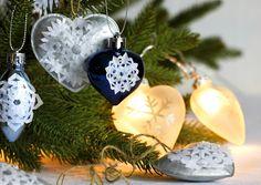 Tuunaa joulukoristeet lumihiutaleilla | Meillä kotona