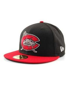 New Era Carolina Mudcats MiLB 59FIFTY Cap Carolina Mudcats. Cool  HatsBaseball ... 812a4e12b3be