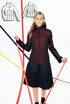 Modern Lines: 9 New Women's Sewing Patterns