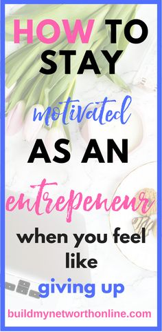 Ever feel like you're stuck in a rut? Are you a blogger, sahm or entrepeneur thats frustrated of putting so much time and effort in your online business and seeing few returns that you feel like giving up? Before you throw in the towel, here is a great ar