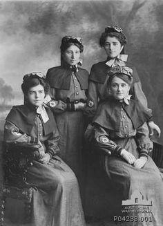Australian nurses 1914. P04233.001 | Australian War Memorial